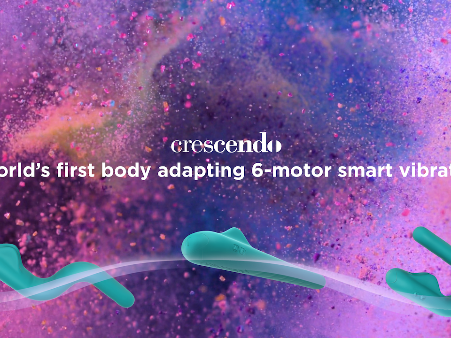 Crescendo - the world's first body-adapting smart vibrator Thumbnail