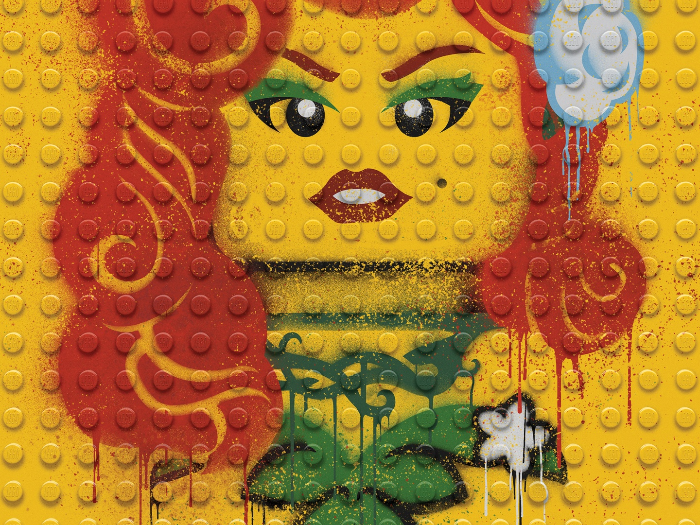 Image for The LEGO Batman Movie - Graffiti Wild Postings | Poison Ivy