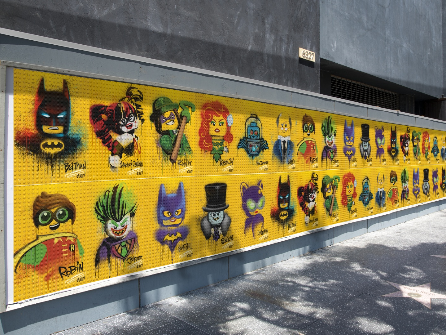The LEGO Batman Movie - Graffiti Wild Postings Thumbnail