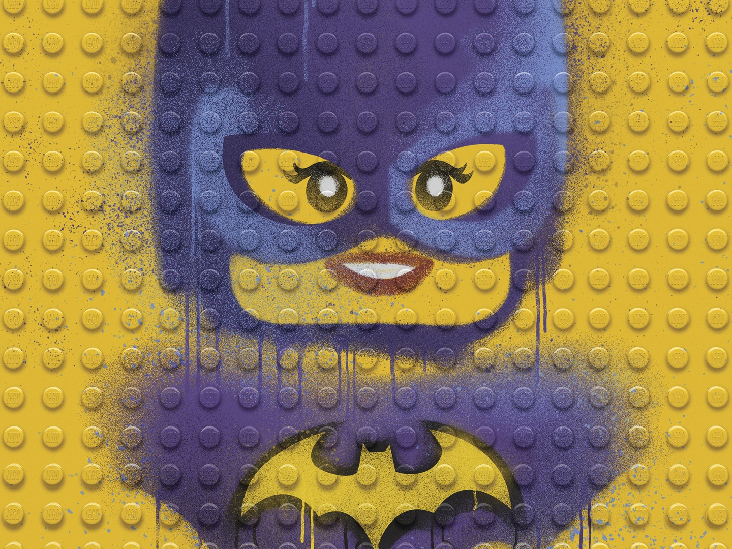 Image for The LEGO Batman Movie - Graffiti Wild Postings | Batgirl