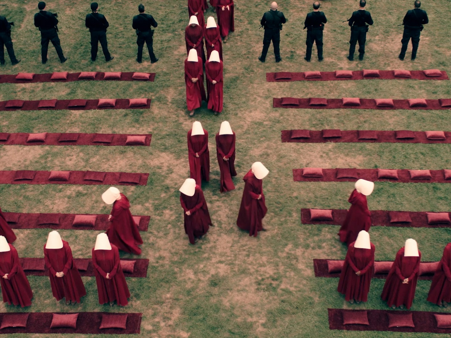 Image for The Handmaid's Tale SuperBowl Spot