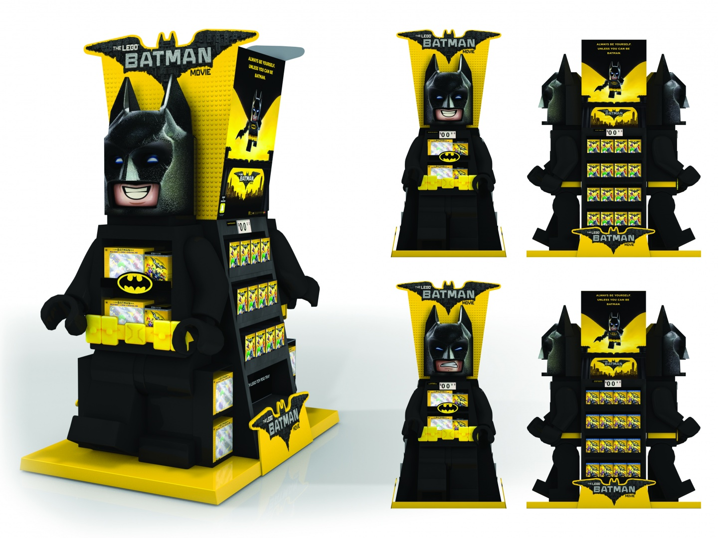 Walmart Lego Batman WOW Display Thumbnail