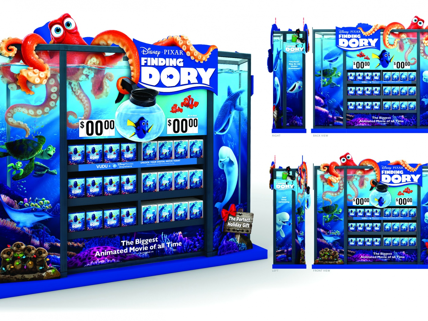 Walmart Finding Dory WOW Display Thumbnail