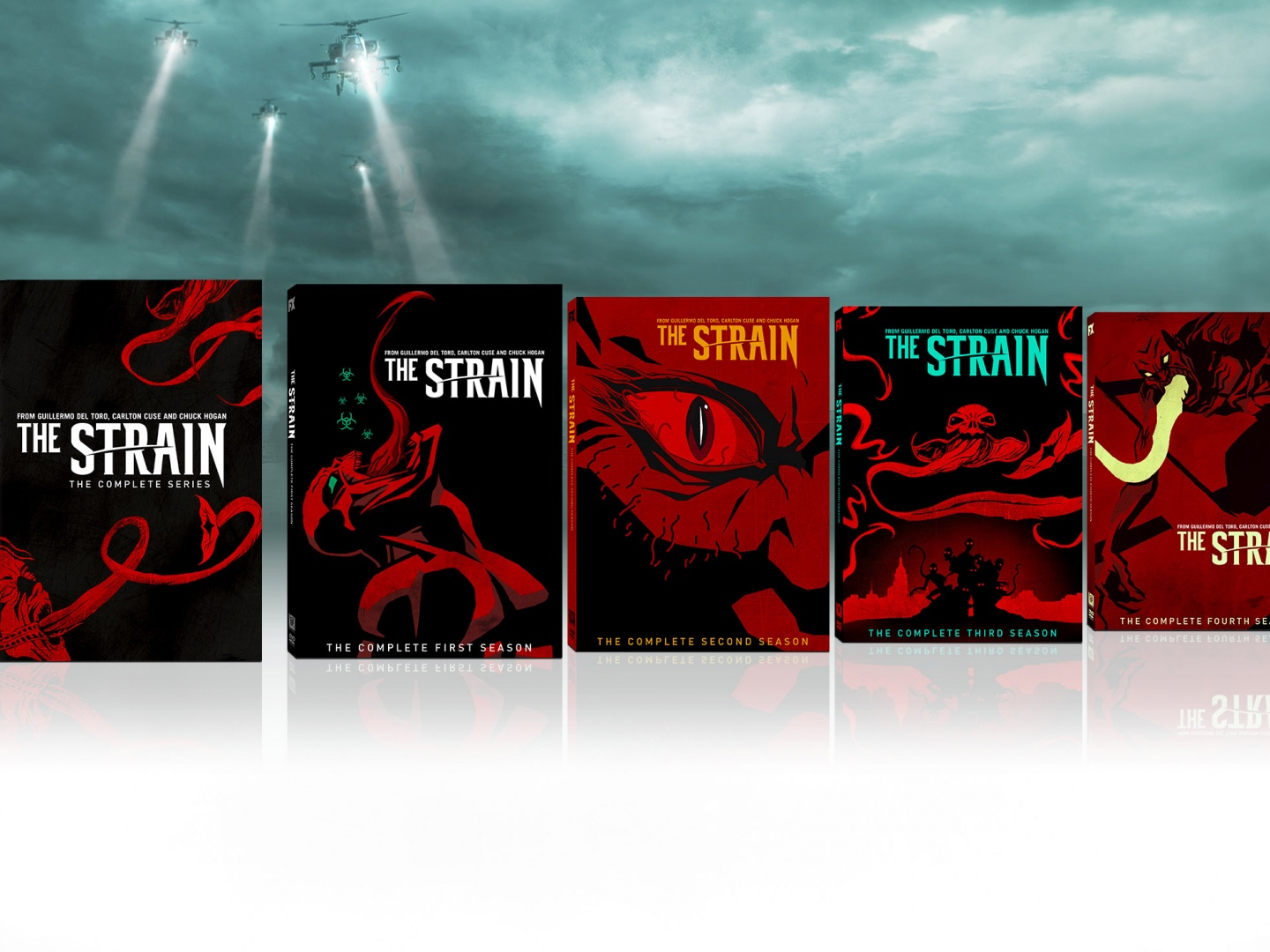 The Strain Seasons 1-4 and Complete Series Comic-Con Exclusives Thumbnail
