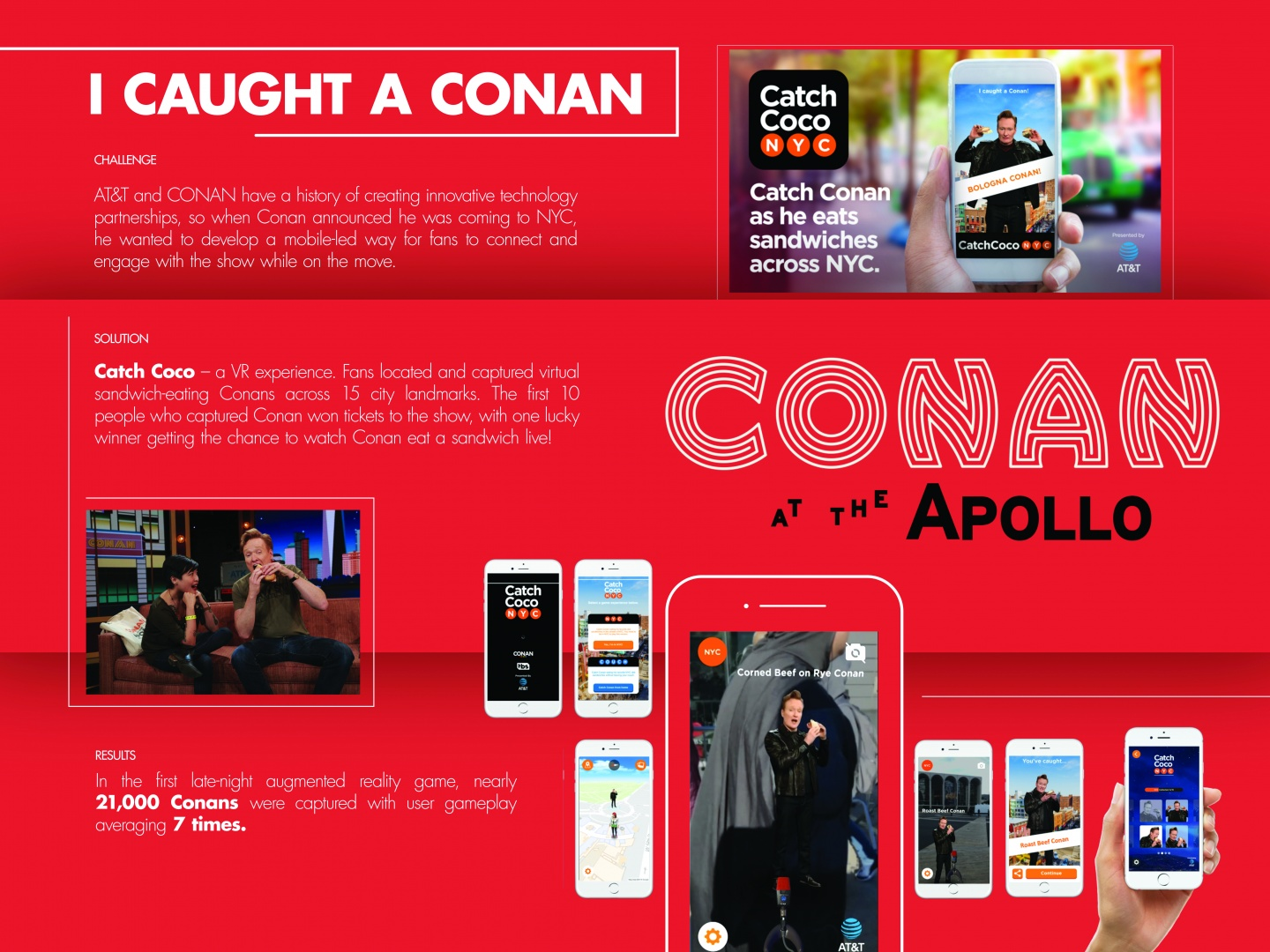 AT&T and Conan in NYC: Catch Coco App Thumbnail