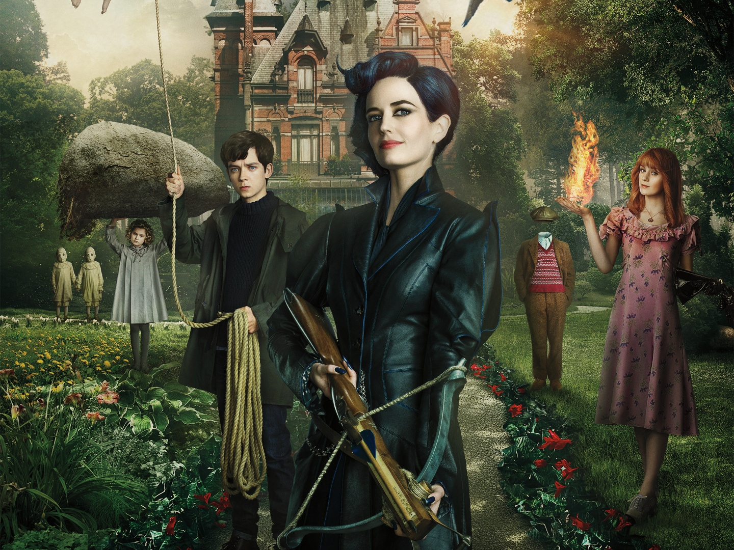 Saks Fifth Avenue and Marc Jacobs for Miss Peregrine's Home for Peculiar Children Thumbnail