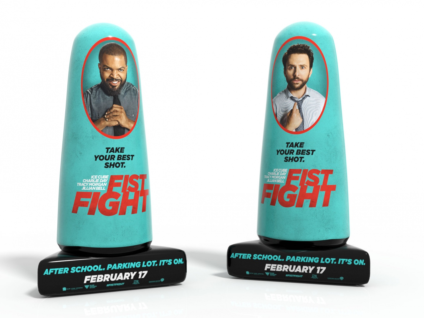 Fist Fight Inflatable Theatrical Display Thumbnail