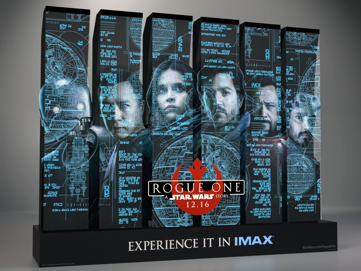 Rogue One: A Star Wars Story Acrylic Theatrical Display Thumbnail