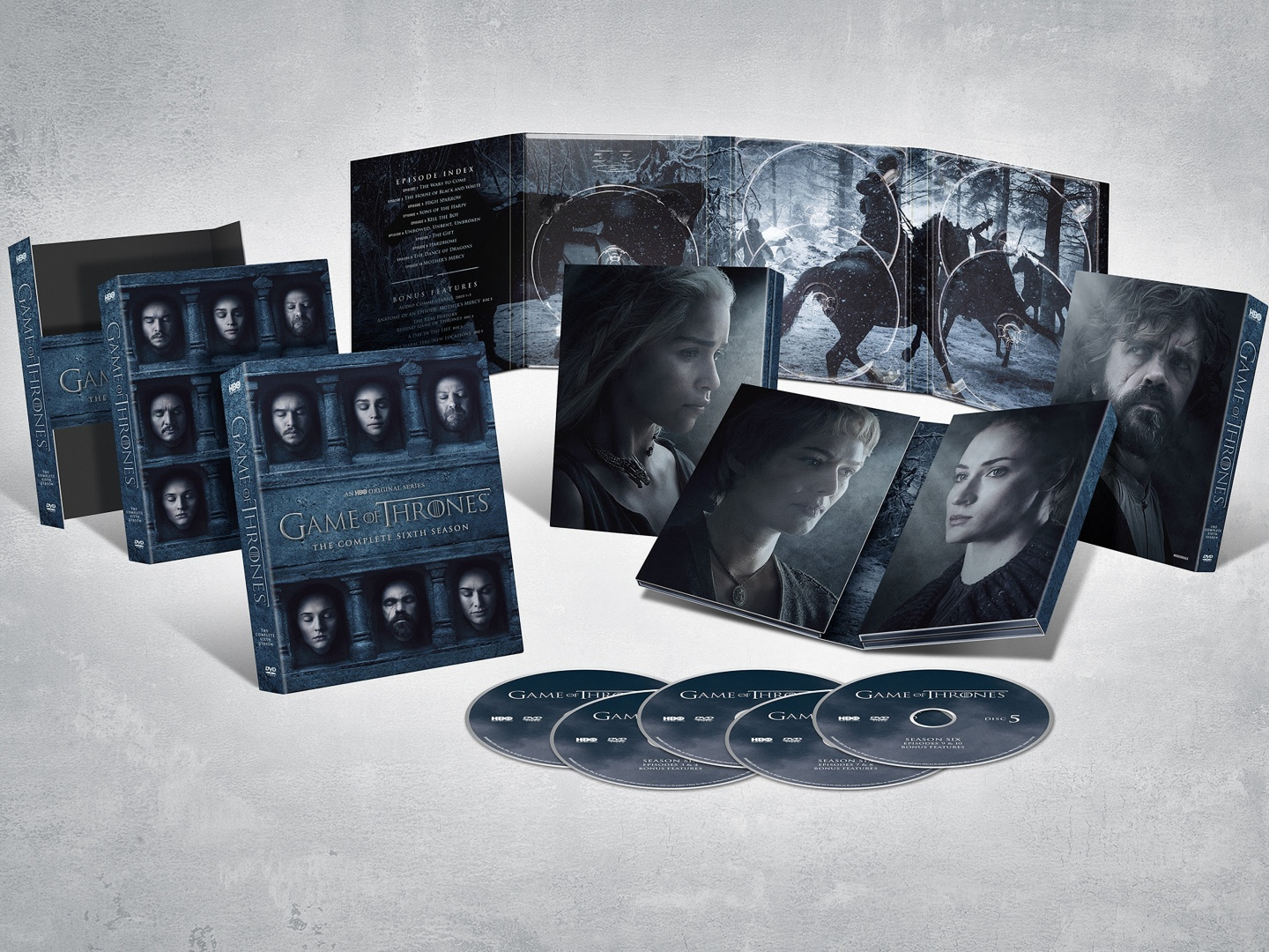 Game of Thrones 6th Season Blu-ray Thumbnail