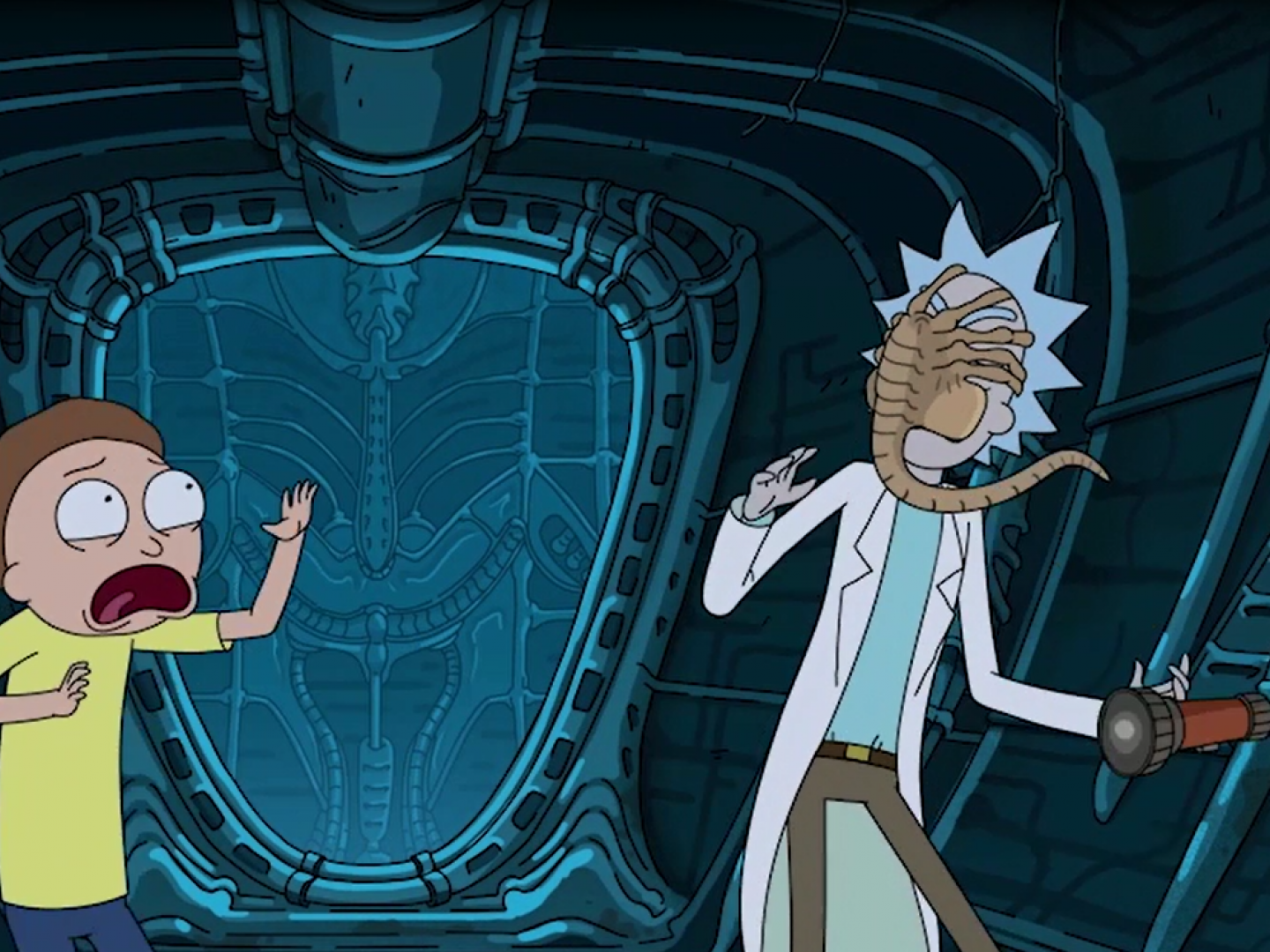 Alien: Covenant/ Rick and Morty Integration Thumbnail