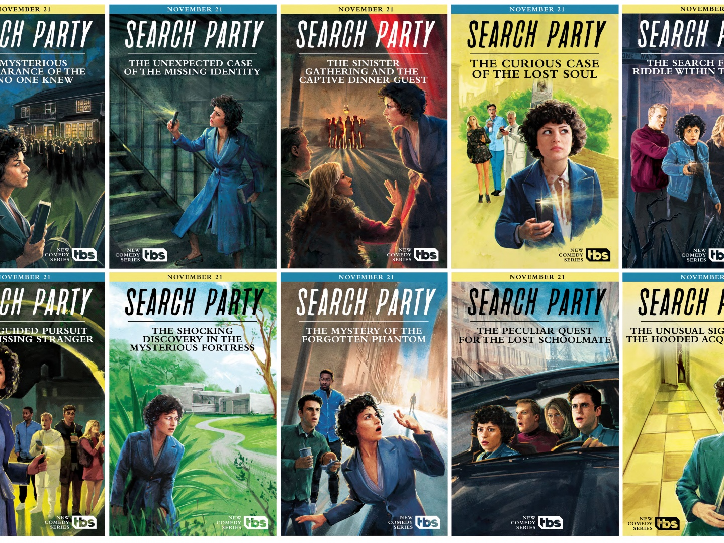 Search Party: S1 Posters Thumbnail