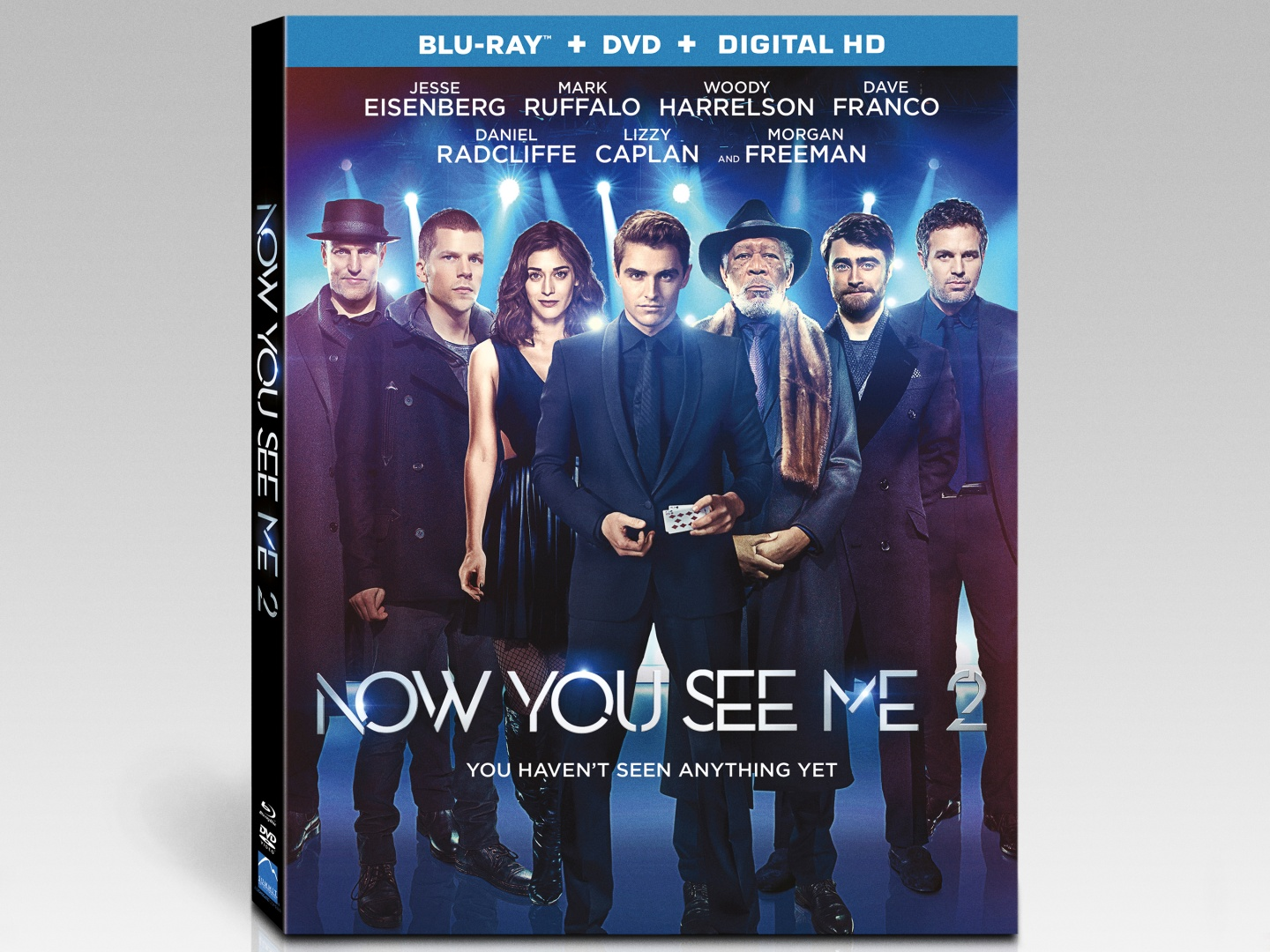 Now You See Me 2 Lenticular Cover Art Thumbnail