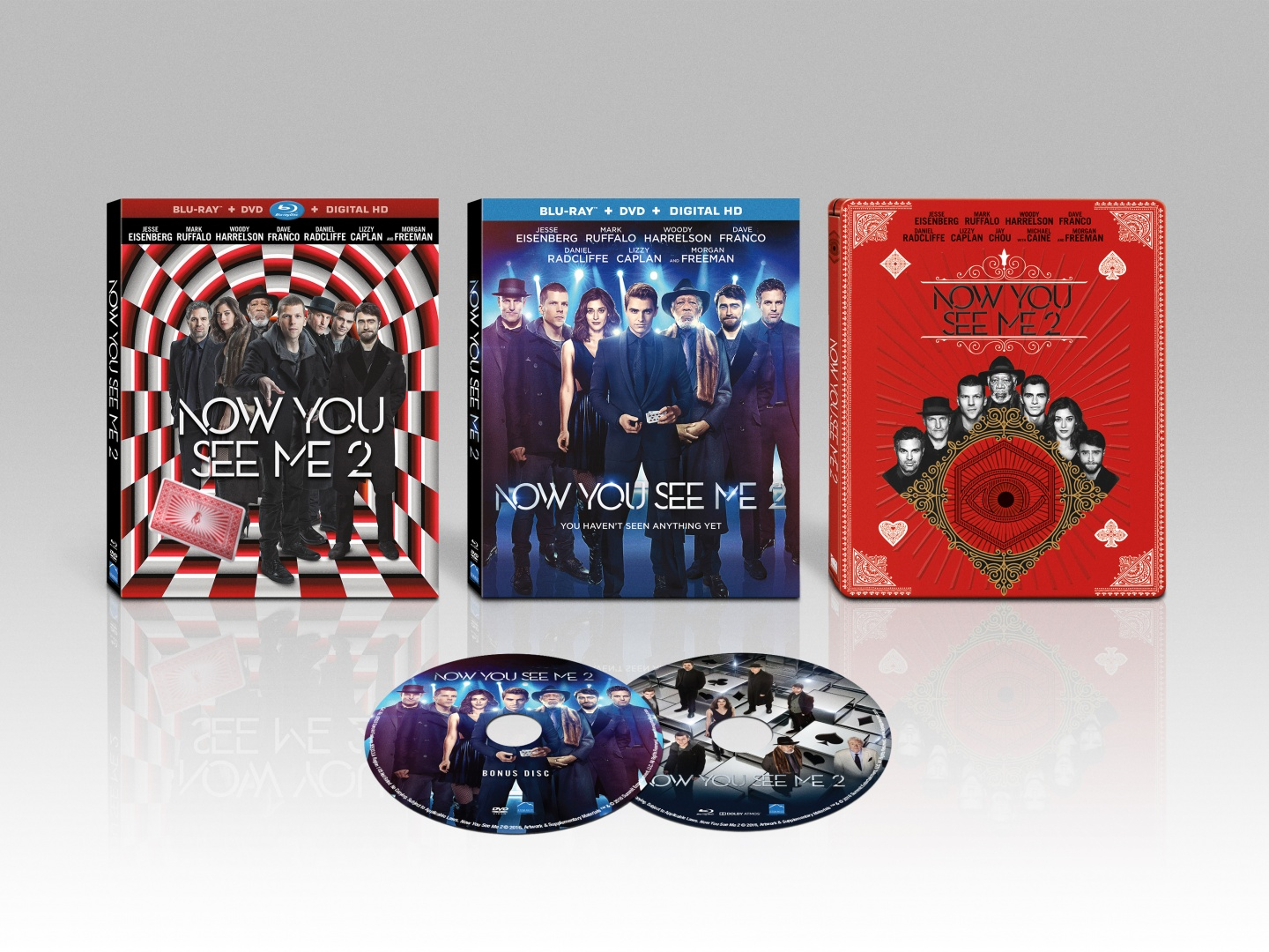 Now You See Me 2 Packaging Campaign Thumbnail