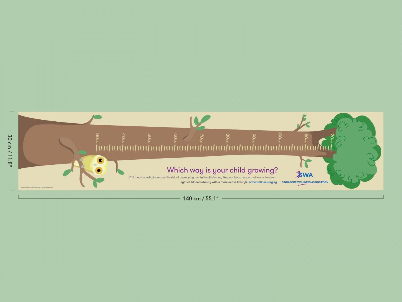 Sideways Growth Charts: Tree Thumbnail