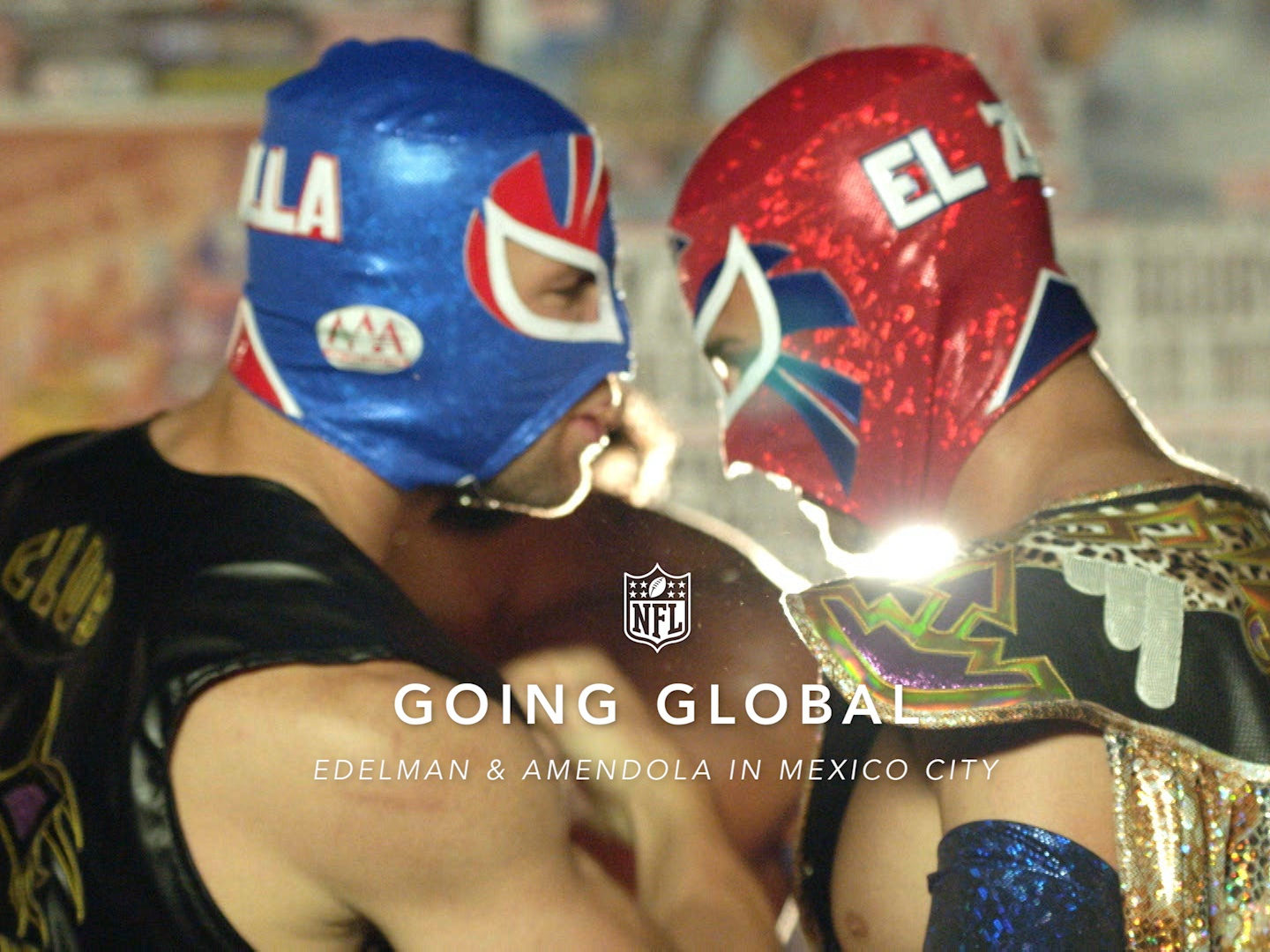 Going Global: Danny Amendola and Julian Edelman in Mexico Thumbnail