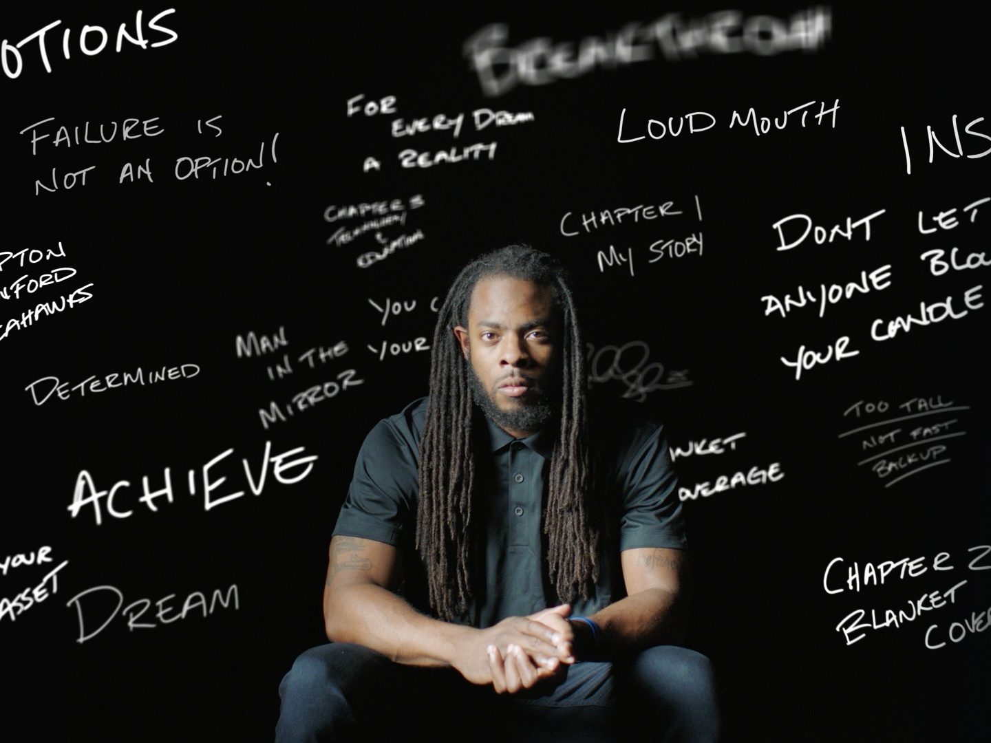 Image for Microsoft Create Change - Richard Sherman