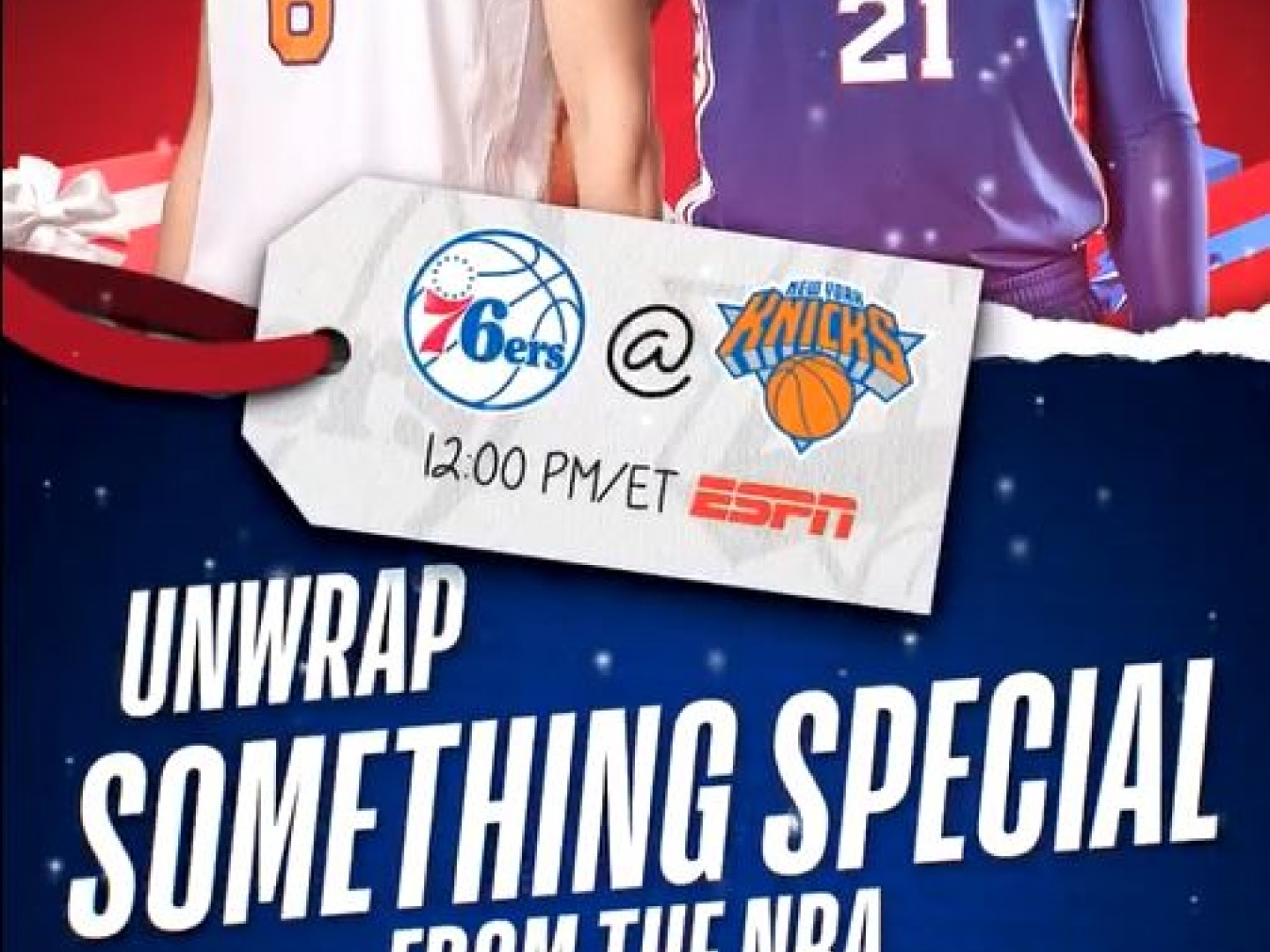 NBA This Is Why We Play Christmas Canvas Ad - 2017 Thumbnail