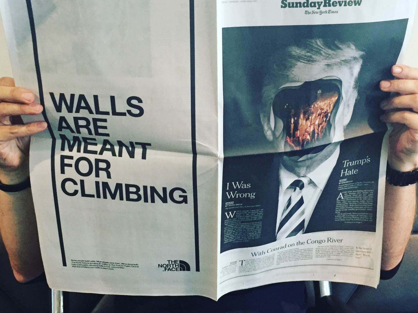 Walls are Meant for Climbing; hijacking the most powerful cultural conversation of 2017.  Thumbnail