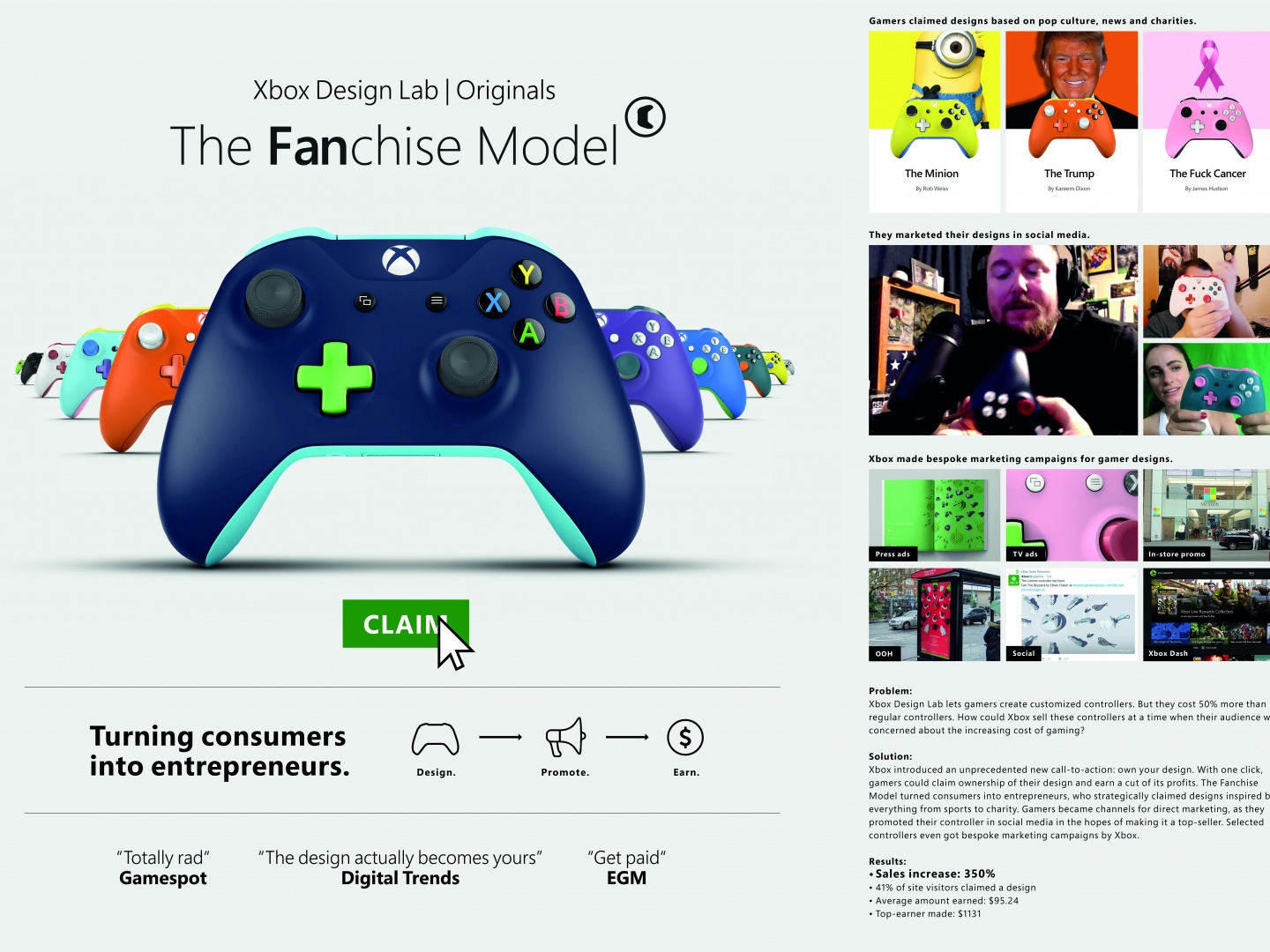 Xbox Design Lab Originals: The Fanchise Model Thumbnail