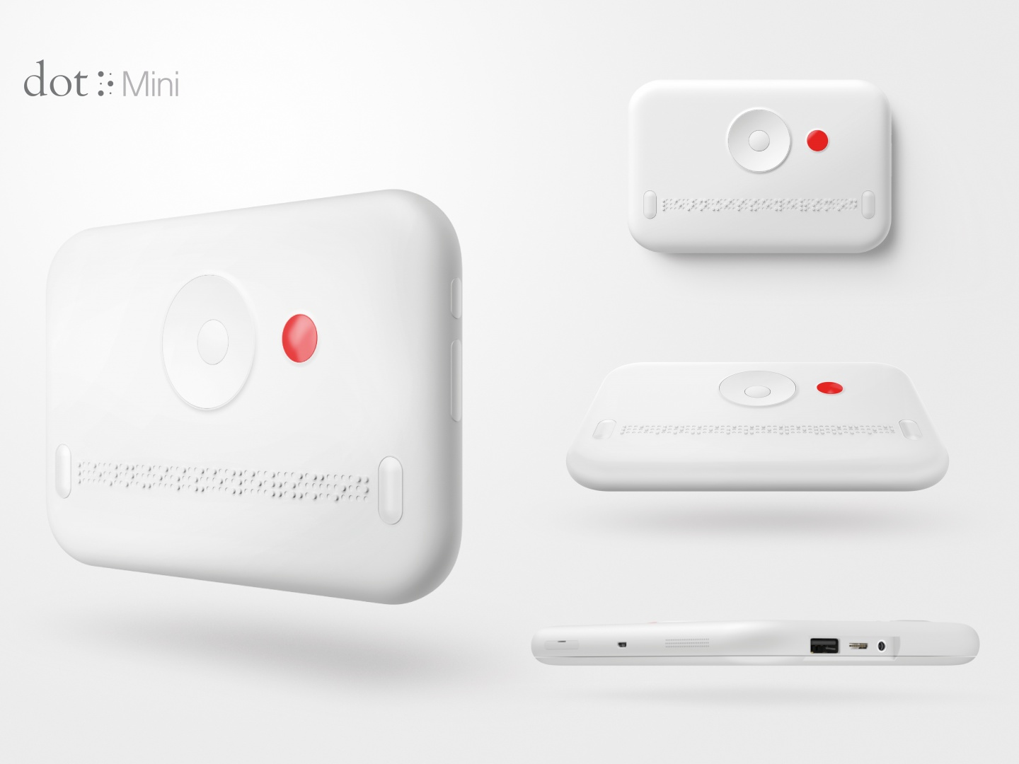Dot Mini. The First Smart Media Device for the Visually Impaired. Thumbnail