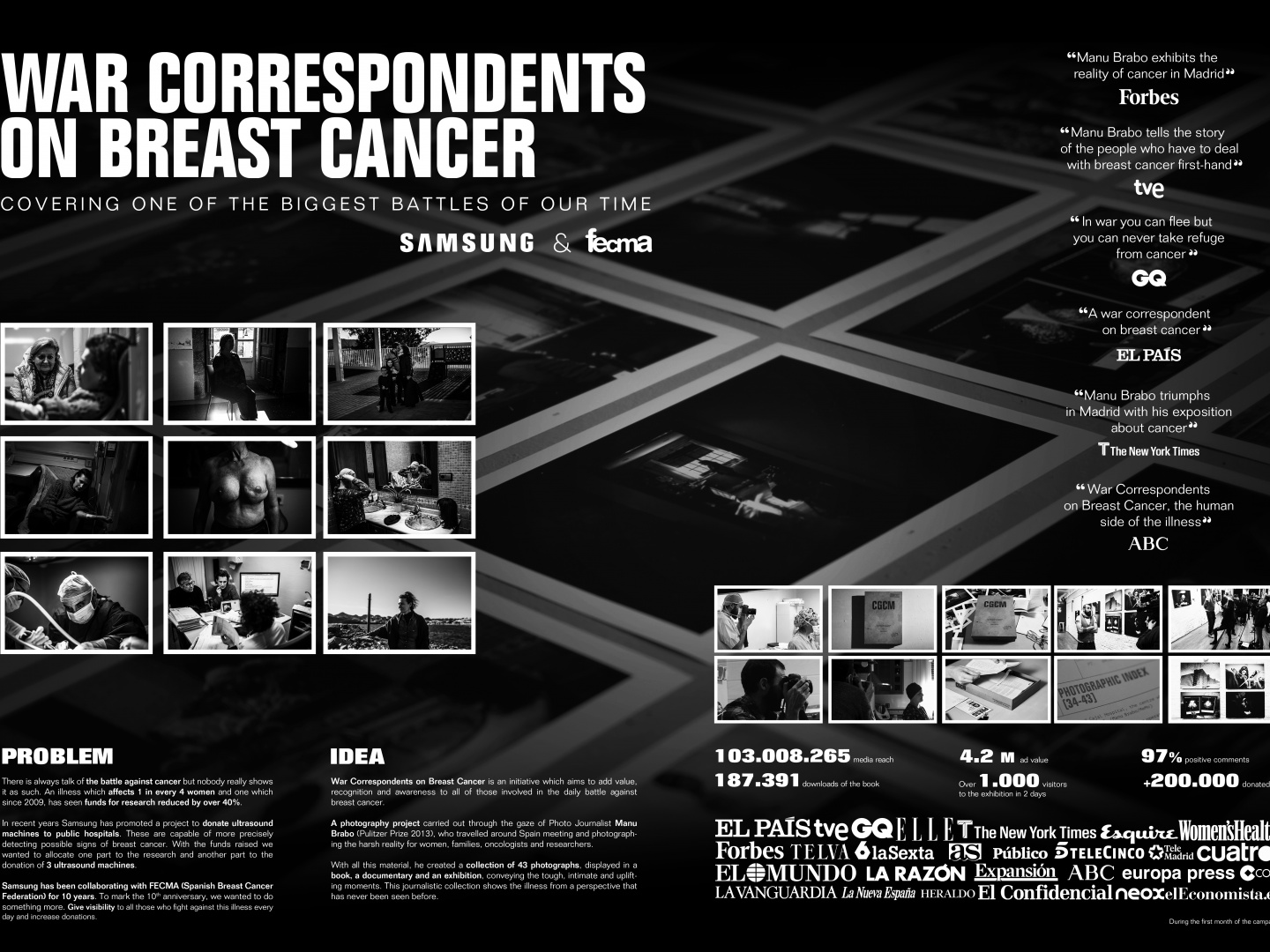 FECMA - WAR CORRESPONDENTS ON BREAST CANCER Thumbnail
