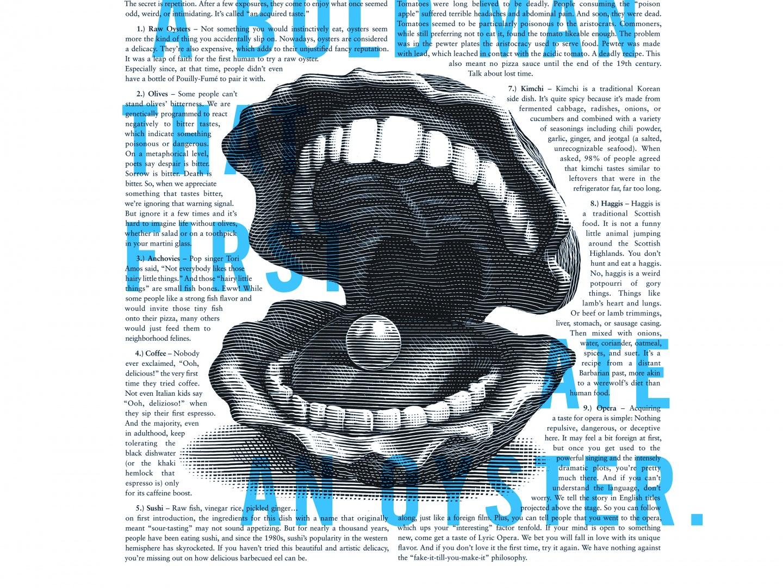 Lyric Opera Print: Bold Man Thumbnail