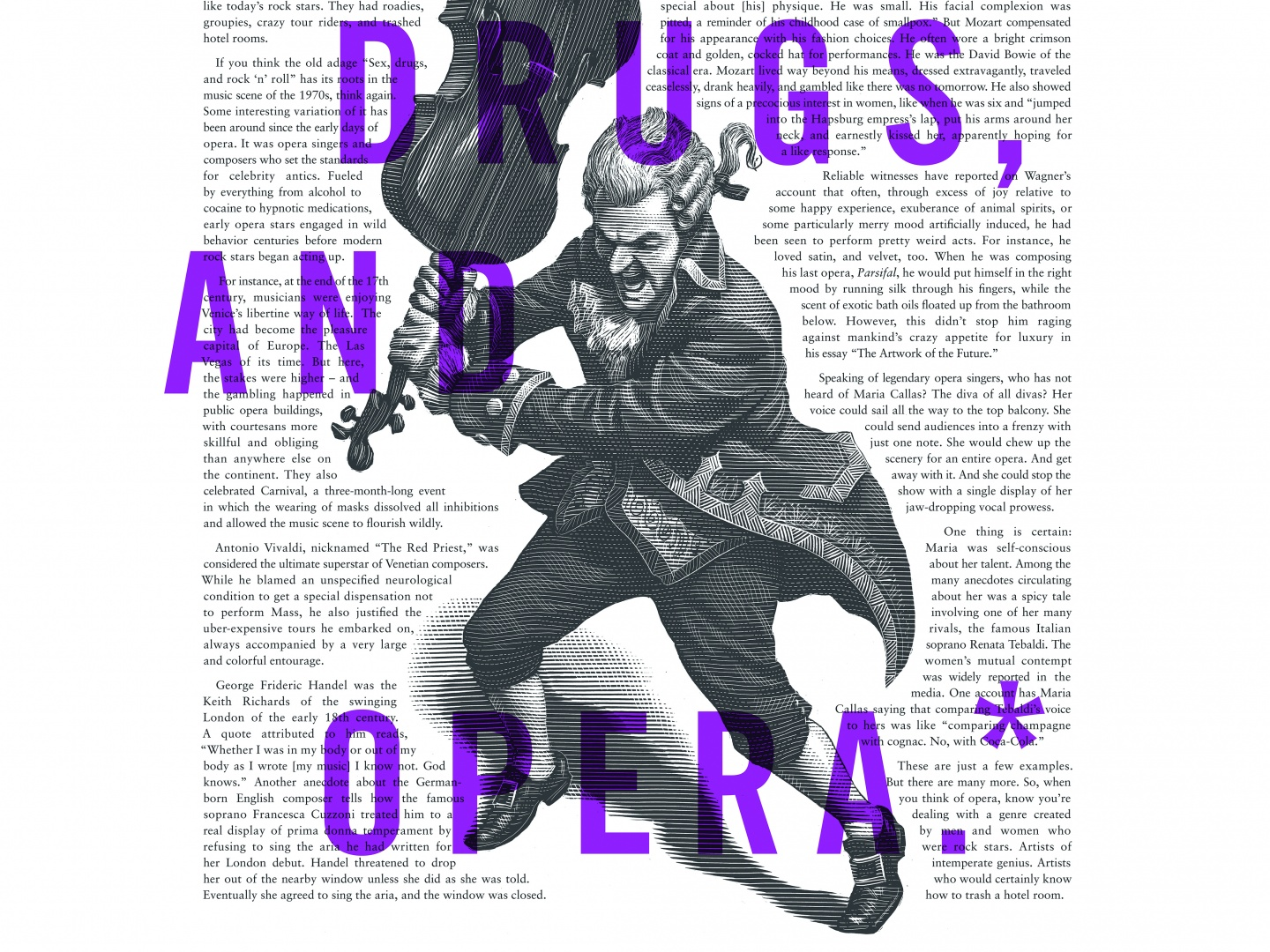 Image for Lyric Opera Print Campaign: Sex and Drugs