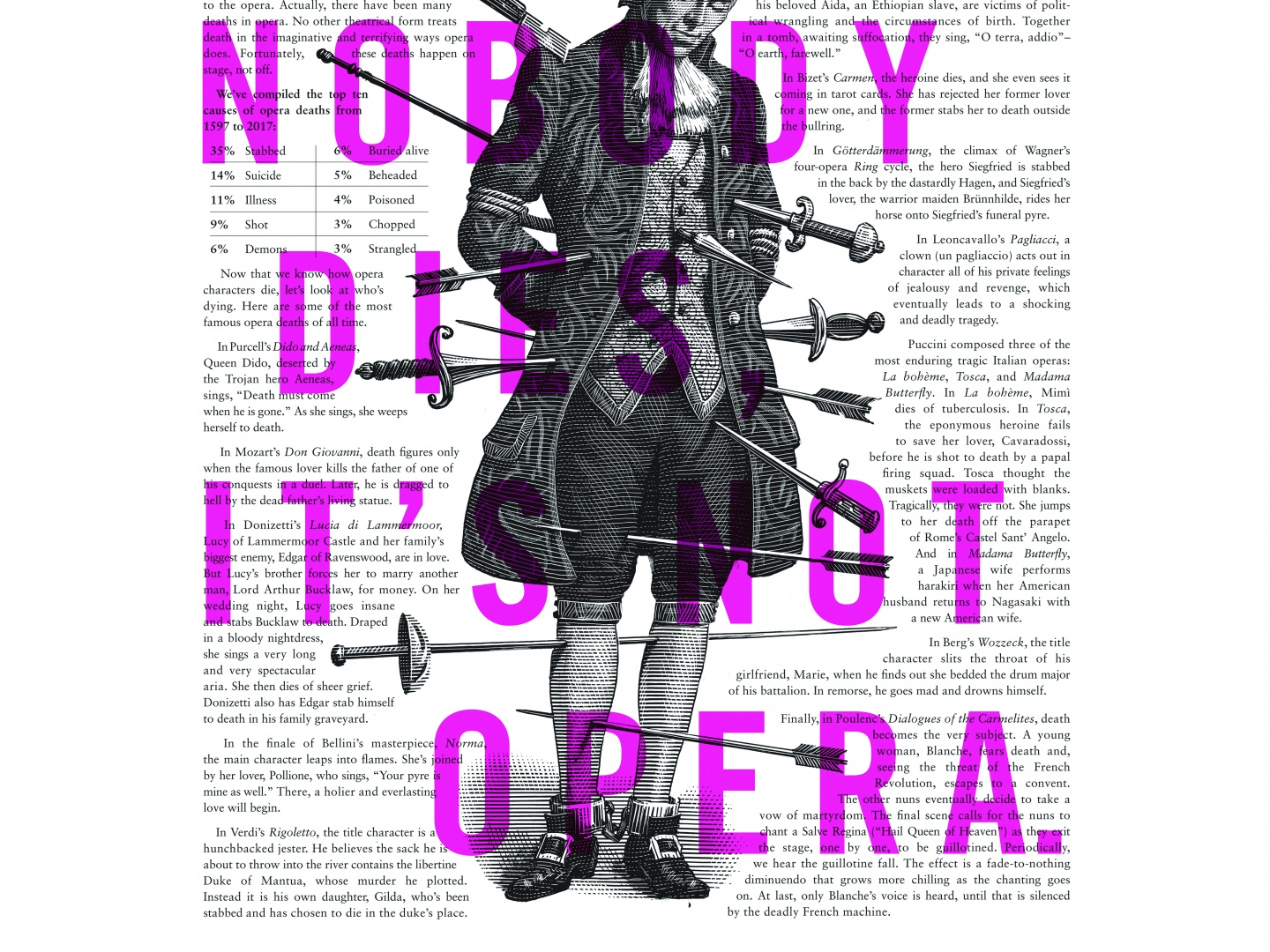 Image for Lyric Opera Print Campaign: Deaths