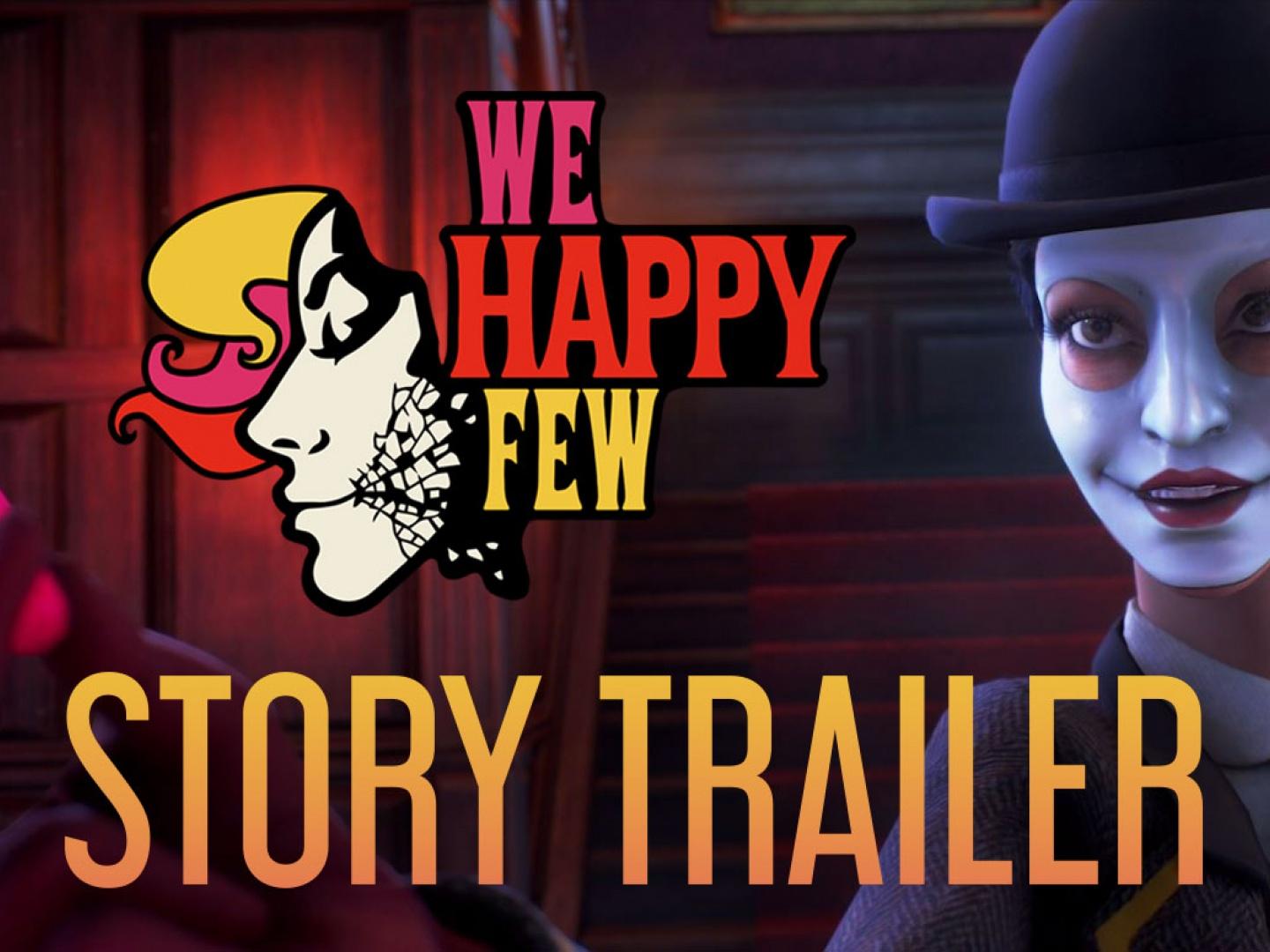 We Happy Few | E3 Story Trailer Thumbnail
