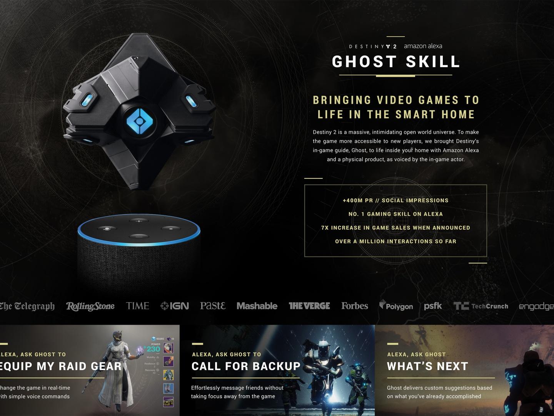 Destiny 2 Ghost Skill Thumbnail