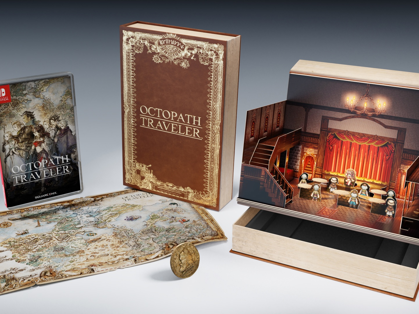 Octopath Traveler Compendium edition, Nintendo Switch, Nintendo and Square Enix Japan Thumbnail