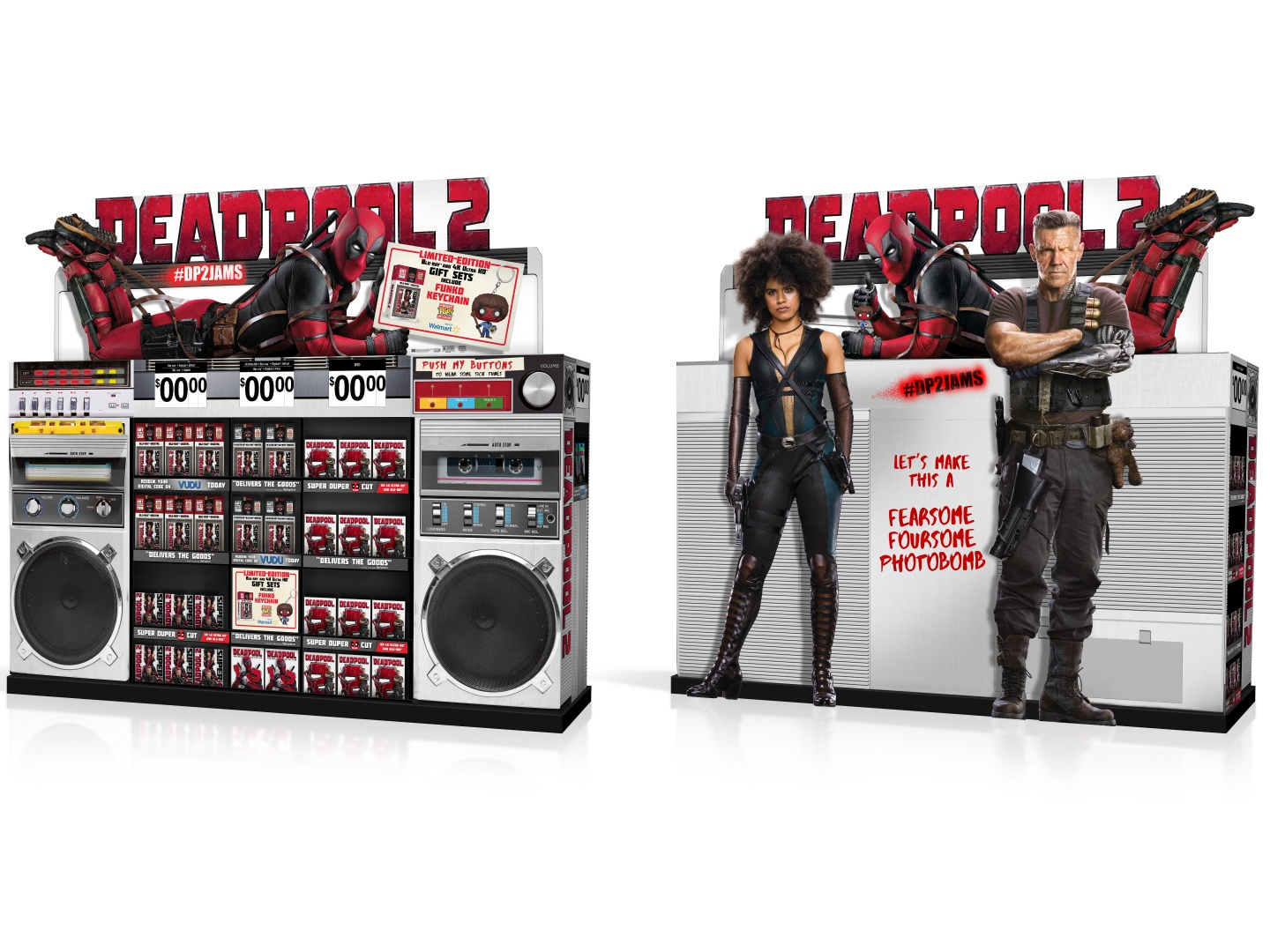 DEADPOOL 2 Home Entertainment Display: WM WOW Boombox Thumbnail