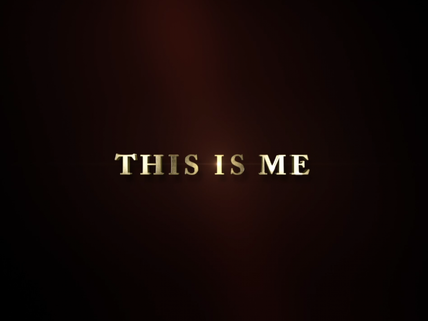 "The Greatest Showman – The Songs ""This Is Me"" Thumbnail"