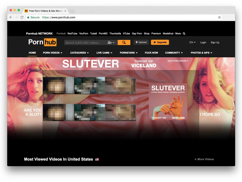 SLUTEVER Pornhub Takeover Thumbnail