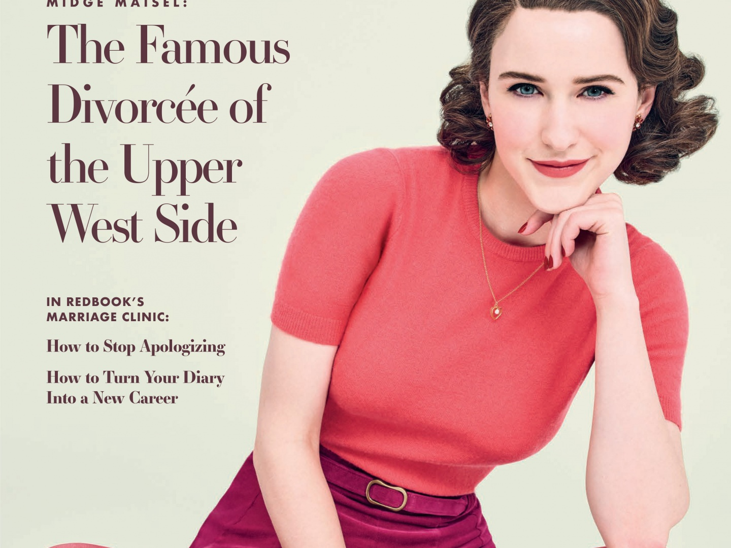 The Marvelous Mrs. Maisel Magazine Cover Takeover  (Redbook) Thumbnail