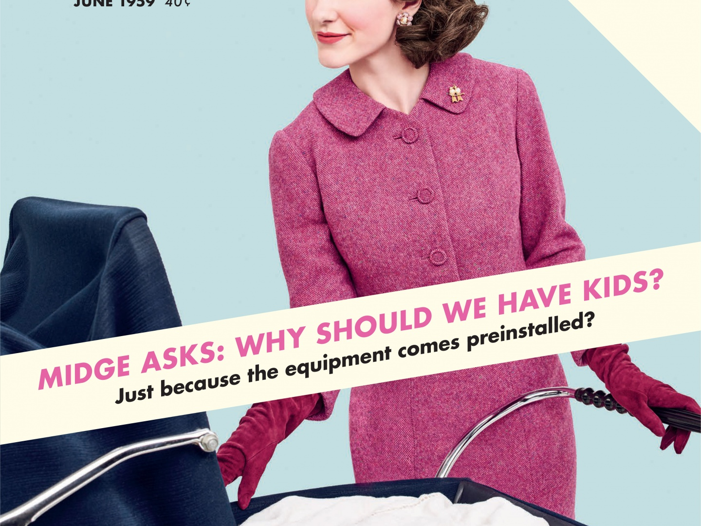 The Marvelous Mrs. Maisel Magazine Cover Takeover (Woman's Day) Thumbnail