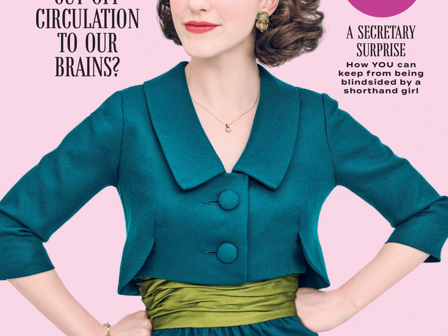 Image for The Marvelous Mrs. Maisel Magazine Cover Takeover (Cosmo)