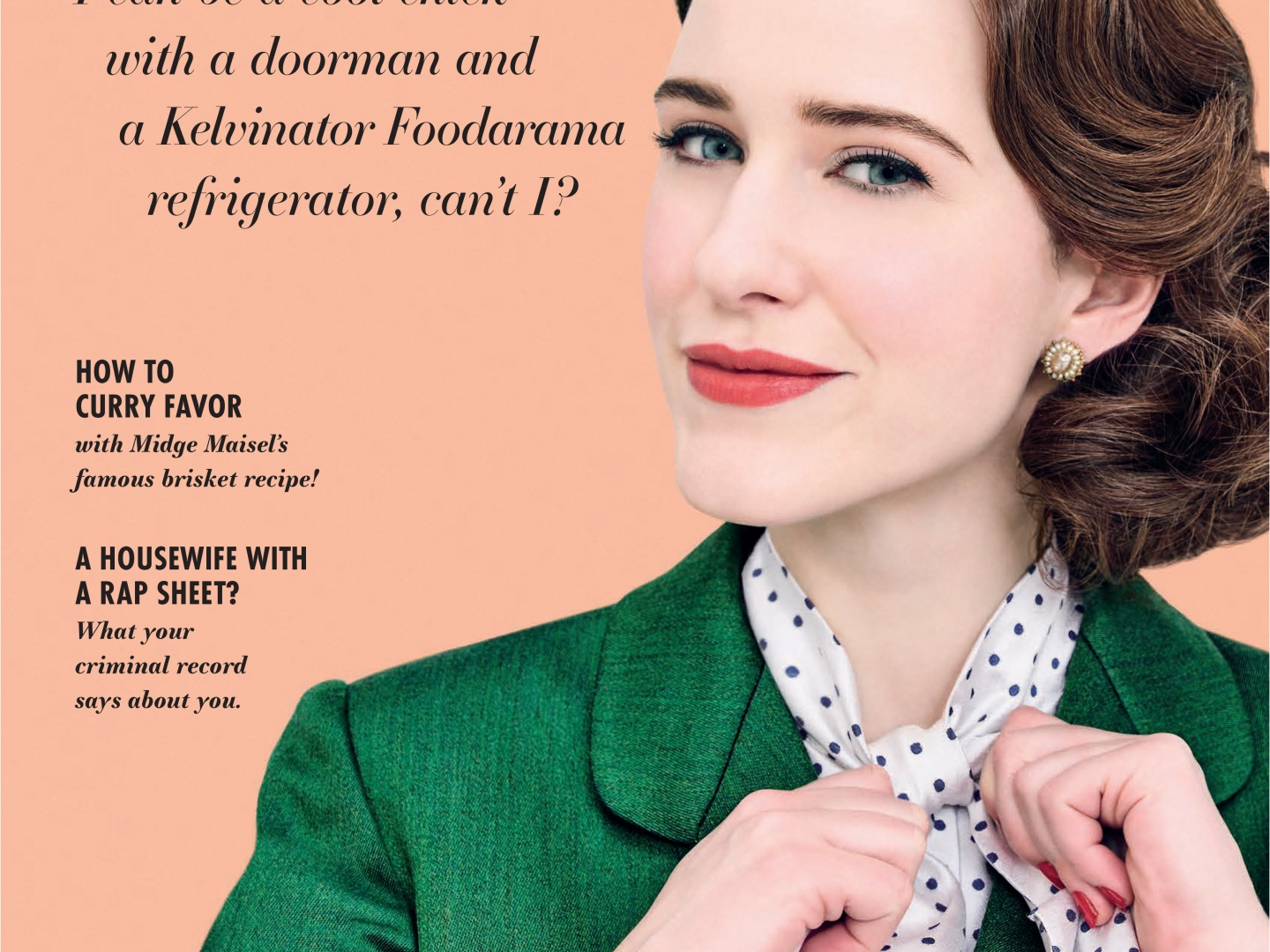 The Marvelous Mrs. Maisel Magazine Cover Takeover (Good Housekeeping) Thumbnail
