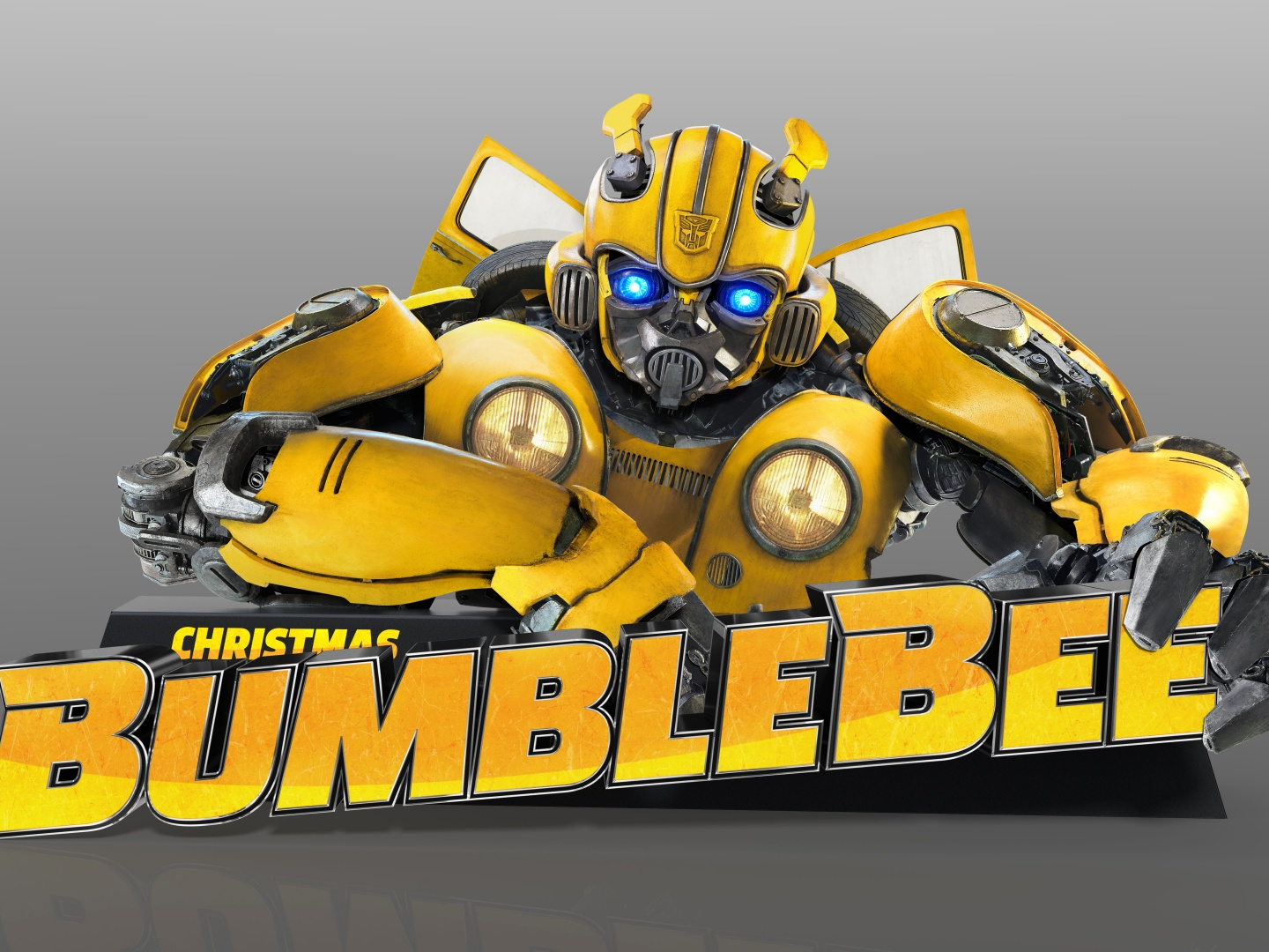 Bumblebee Standee with Custom Animated AV Eyes Thumbnail