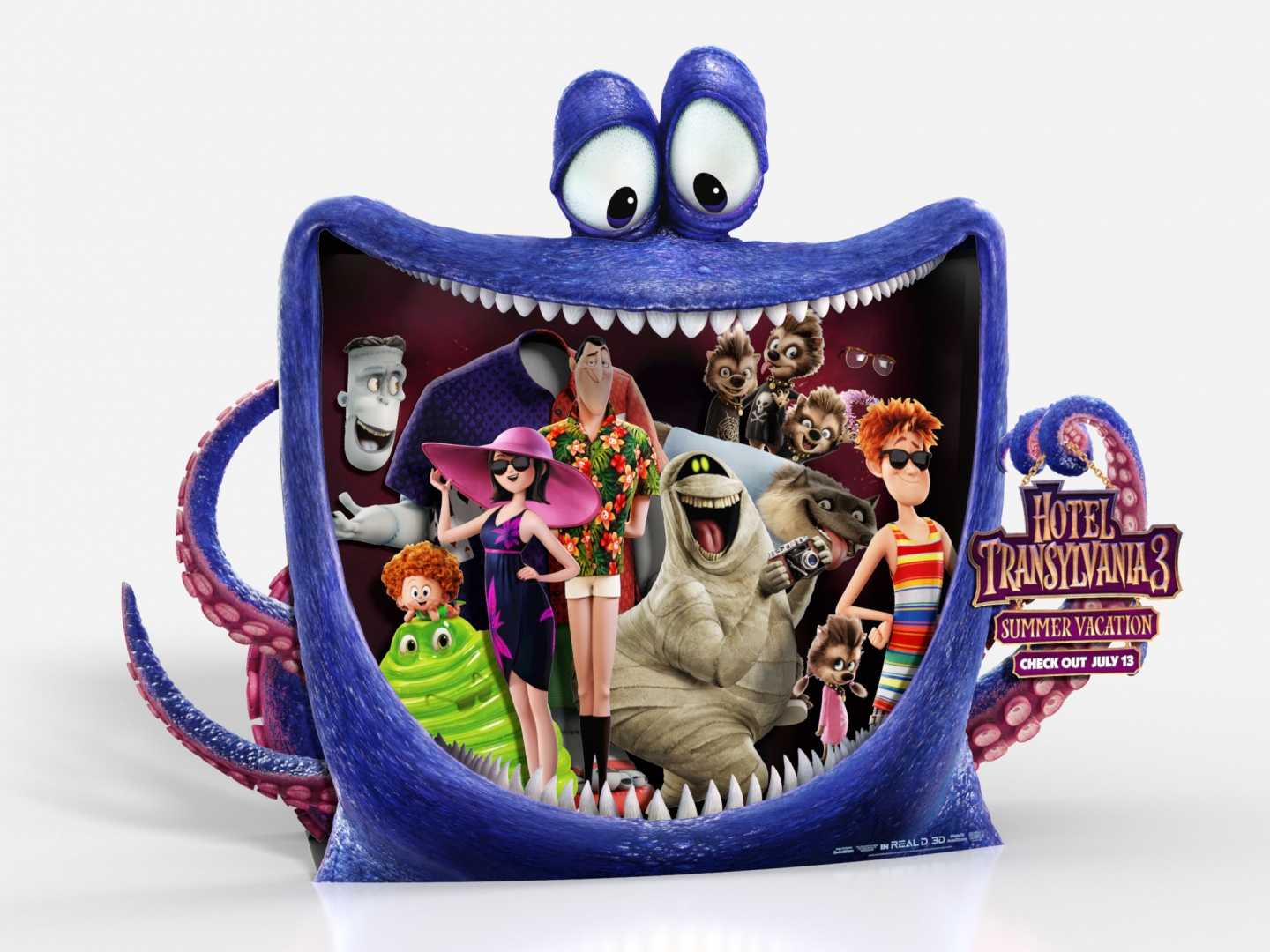 Hotel Transylvania 3: Summer Vacation In-Theatre Standee Thumbnail