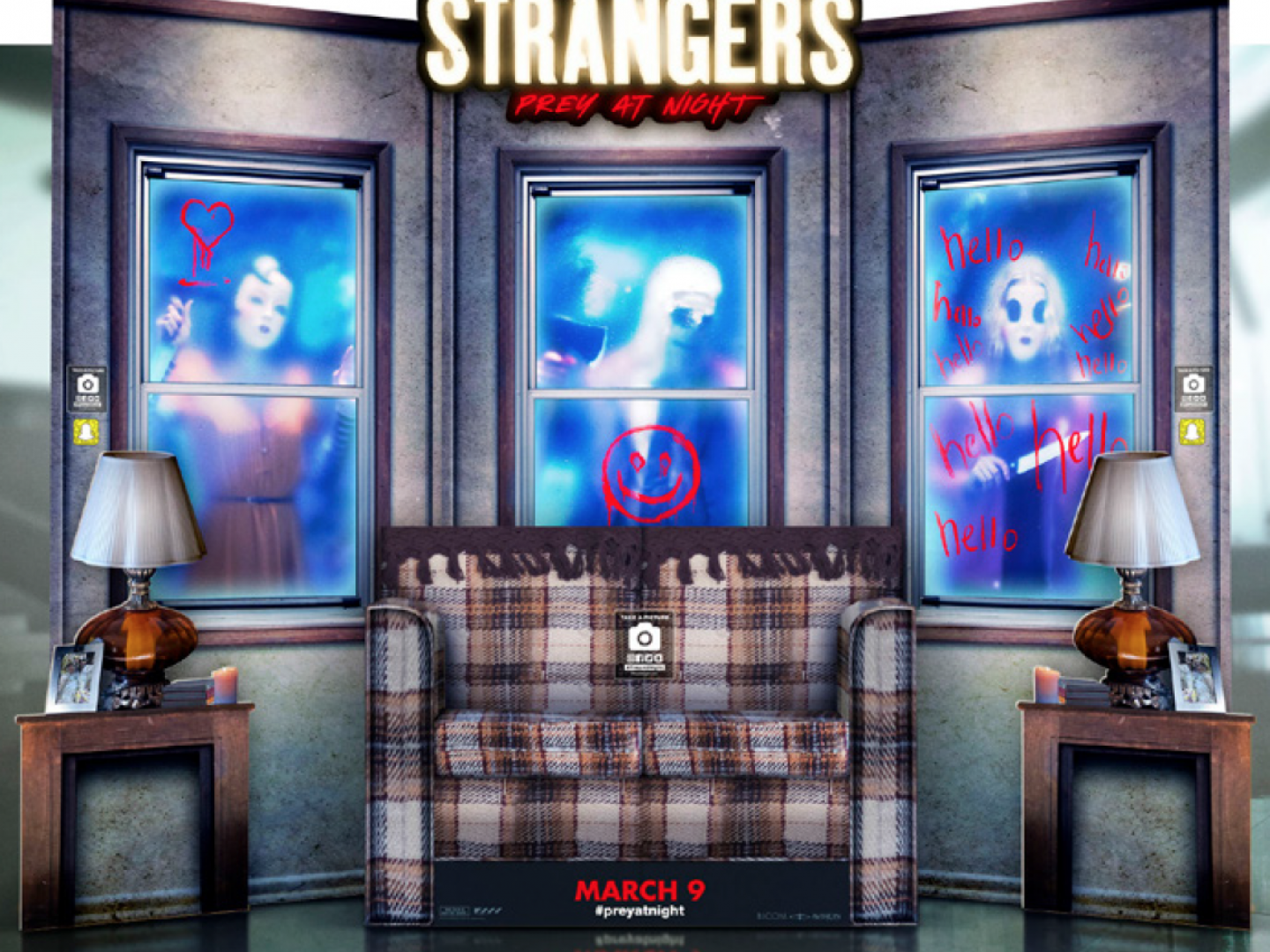 The Strangers - Spectacular Theatrical Standee Thumbnail