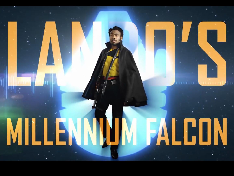 Lando's Millennium Falcon Thumbnail