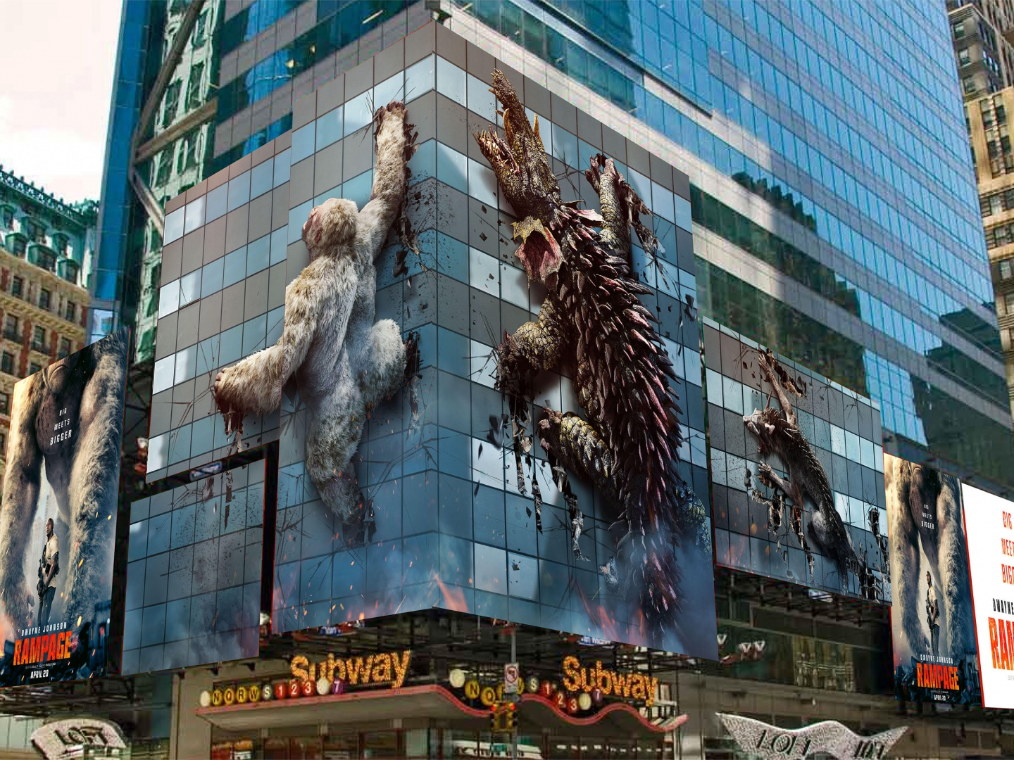 Image for Rampage - Times Square NYC