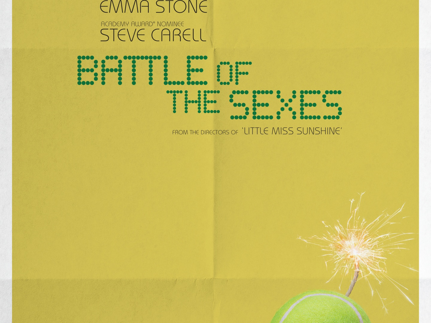 Battle of the Sexes: One-sheet Teaser  Thumbnail