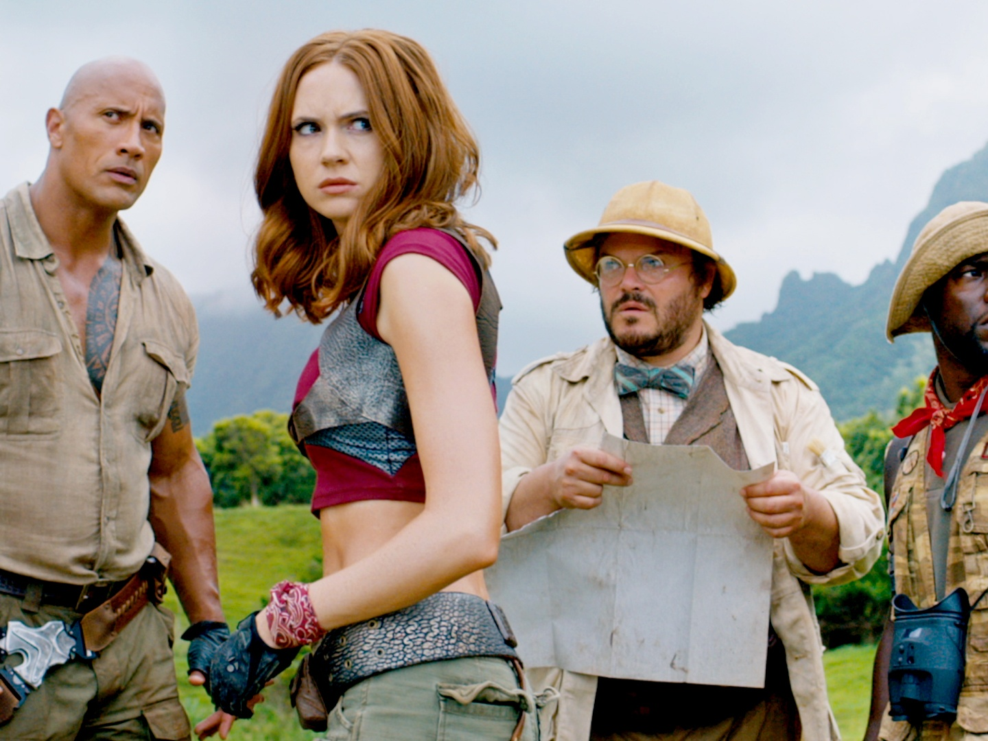 Jumanji: Welcome To The Jungle, Trailer