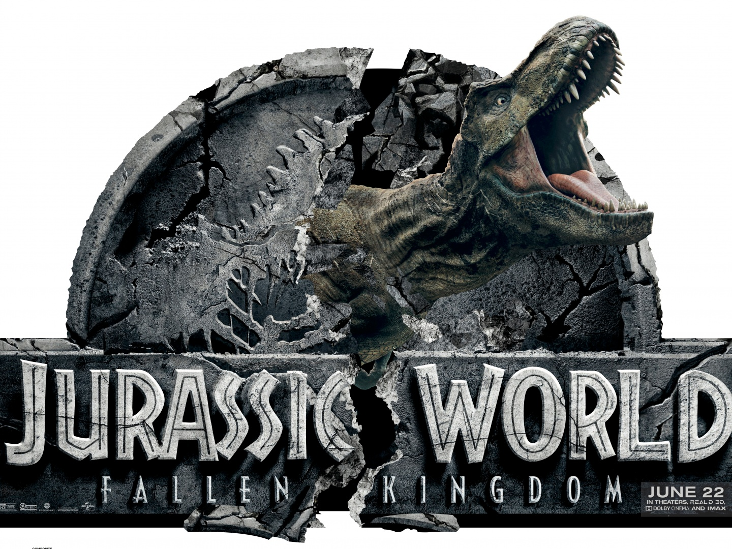 Jurassic World Standee Thumbnail
