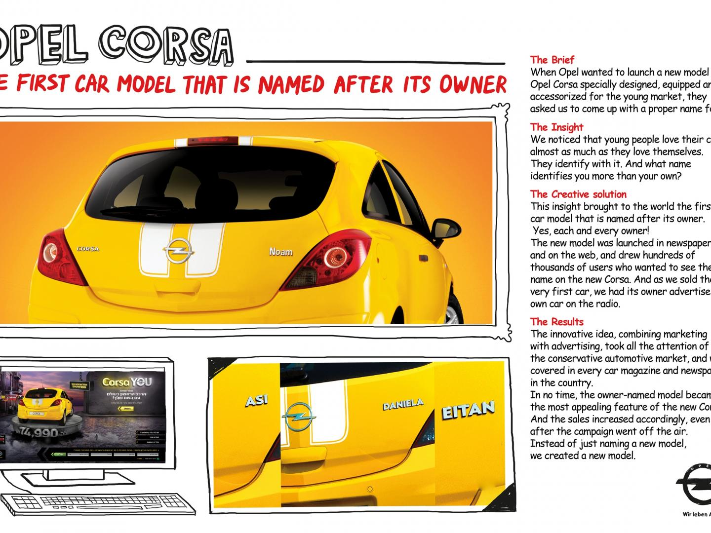 Opel Corsa __________ The first car model named after its owner Thumbnail