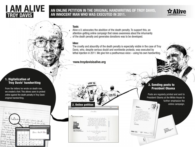 Troy Davis - I am alive Thumbnail