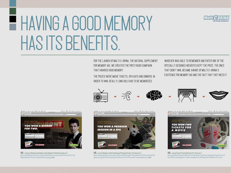 Good Memory have Benefits Thumbnail