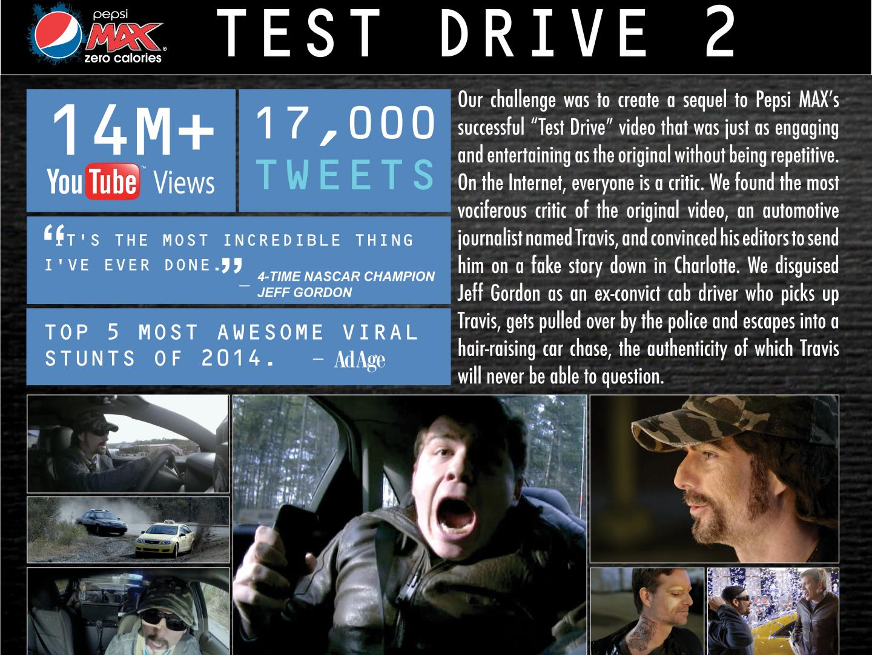 Pepsi MAX presents 'Test Drive 2' Thumbnail